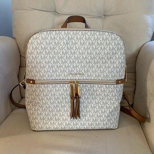 Michael Kors Rhea Zip Medium Slim (Purse) Backpack